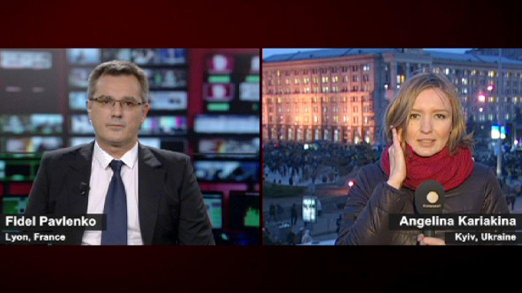 Ucraina: manifestanti ancora in piazza