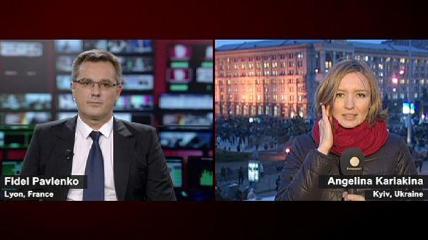 """Le gouvernement ukrainien """"a franchi la ligne rouge"""", selon l'opposition"""