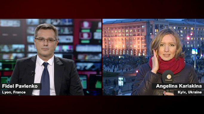 Továbbra is kitartanak a kijevi tüntetők - helyszíni jelentés az ukrán fővárosból