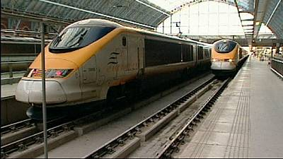 UK to sell off its 40% stake in Eurostar