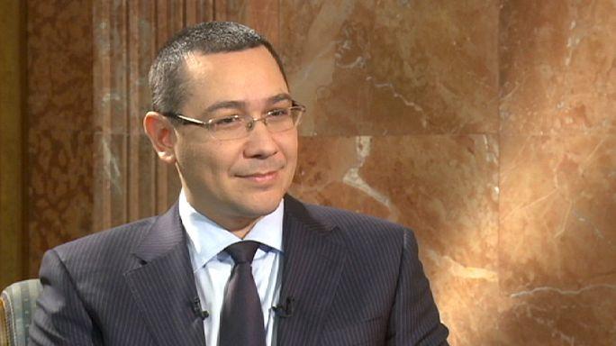 """Victor Ponta : la Roumanie, """"un plus pour l'Europe"""""""