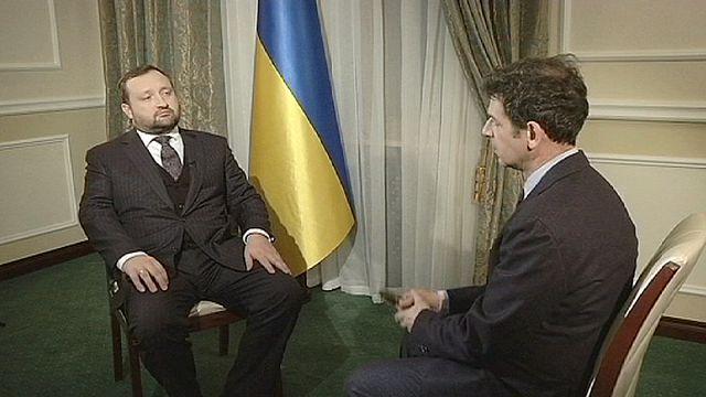 نائب رئيس الوزراء الأوكراني في حديث حول المفاوضات مع الإتحاد الأوربي وأعمال العنف ضد المتظاهرين