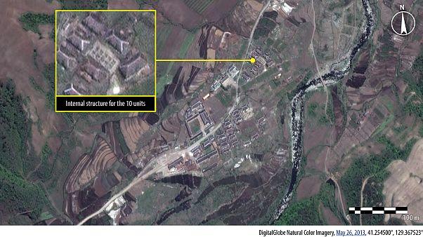 Amnistia Internacional divulga novas fotos de satélite