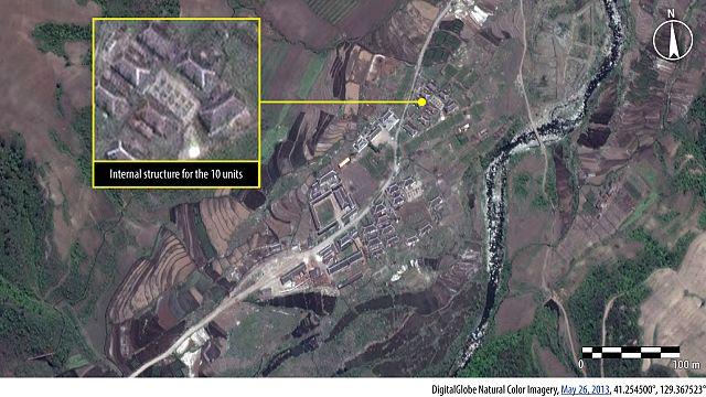 Kuzey Kore'deki kampların yeni fotoğrafları