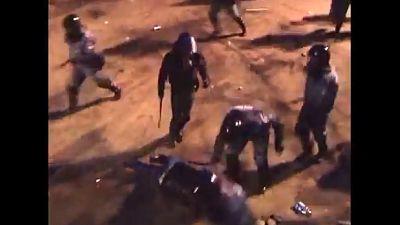 Ukraine: video shows police violence against protester during Kiev demo