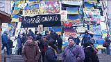 """Arseni Yatsenyuk: Oposição ucraniana quer a """"integração na União Europeia, valores europeus e um novo país""""."""