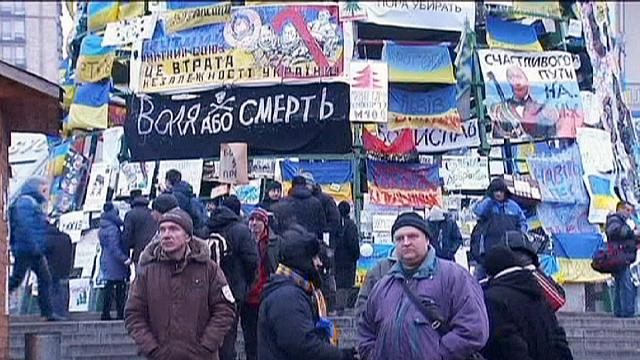Ukrayna muhalefeti yönetime karşı birleşti
