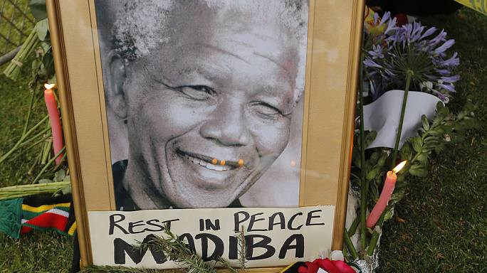 La muerte de Mandela en las redes sociales