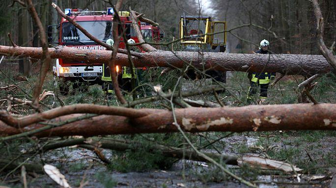 Seis victimas mortales en el norte de Europa por la tormenta Xaver