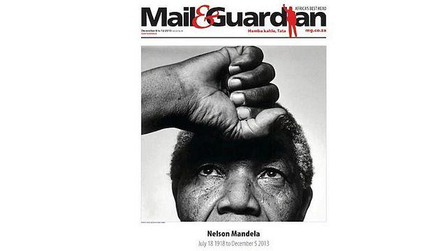 Mandela on frontpages worldwide