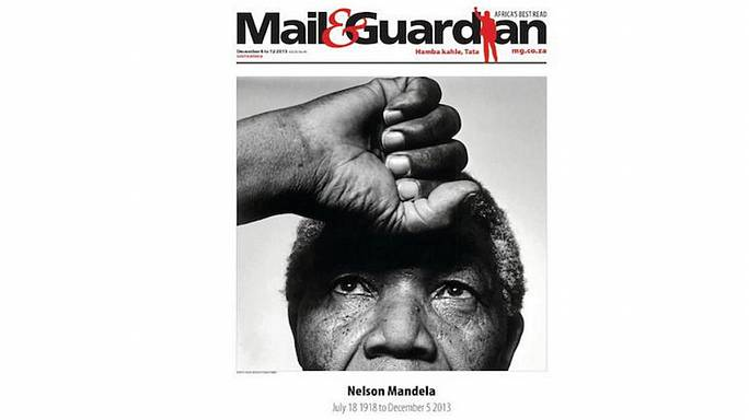 Mandela on frontpages worldwide