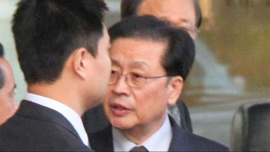 La Corée du Nord diffuse des photos de l'arrestation d'un haut dirigeant