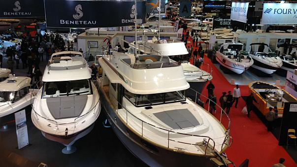Paris : salon nautique en temps de crise