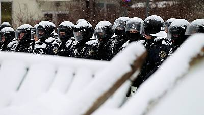 El centro de Kiev es un polvorín