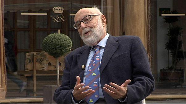 """Francois Englert, Nobel de Física 2013: """"Dios no tiene nada que ver con esto"""""""