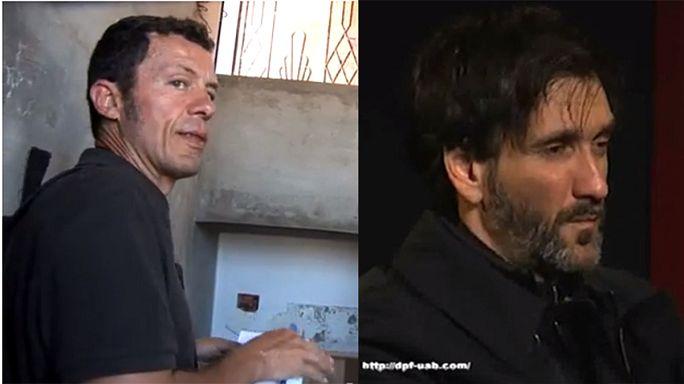 Deux journalistes espagnols enlevés en Syrie
