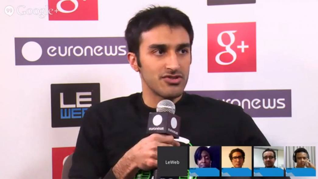 LeWeb2013: hanging out with bop.fm co-founder and CEO Shehzad Daredia