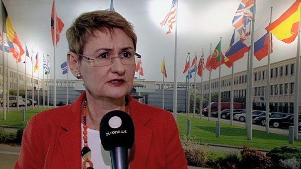 NATO sees Ukraine's future in Europe