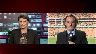 """""""El espíritu de Mandela se ha dejado sentir en el estadio Soccer City de Johannesburgo"""""""