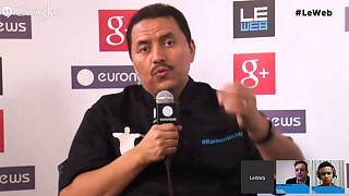 LeWeb 2013: hanging out with Social Media Visionary Ramon de Leon