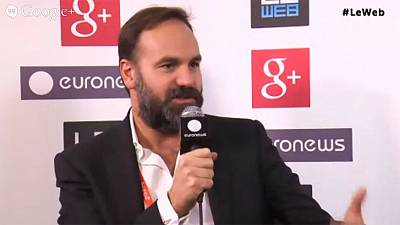LeWeb 2013: hanging out with Ubuntu founder Mark Shuttleworth