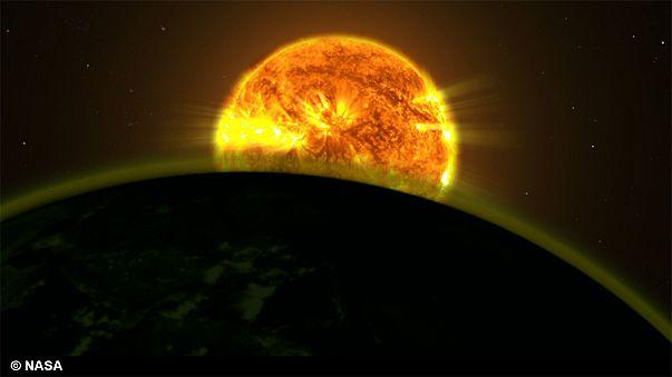 De d'eau dans l'atmosphère de cinq exoplanètes