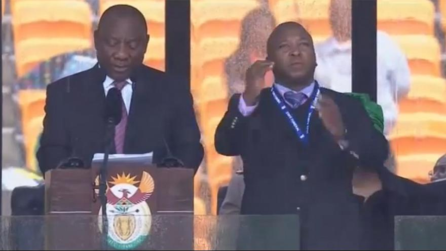 Mandela Memorial Sign Language Interpreter a 'Fraud'