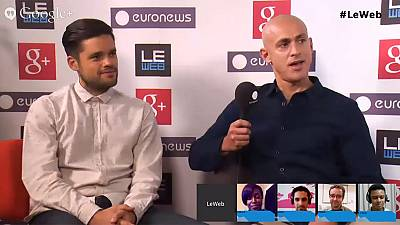 LeWeb 2013: hanging out with Headspace co-founder Andy Puddicombe