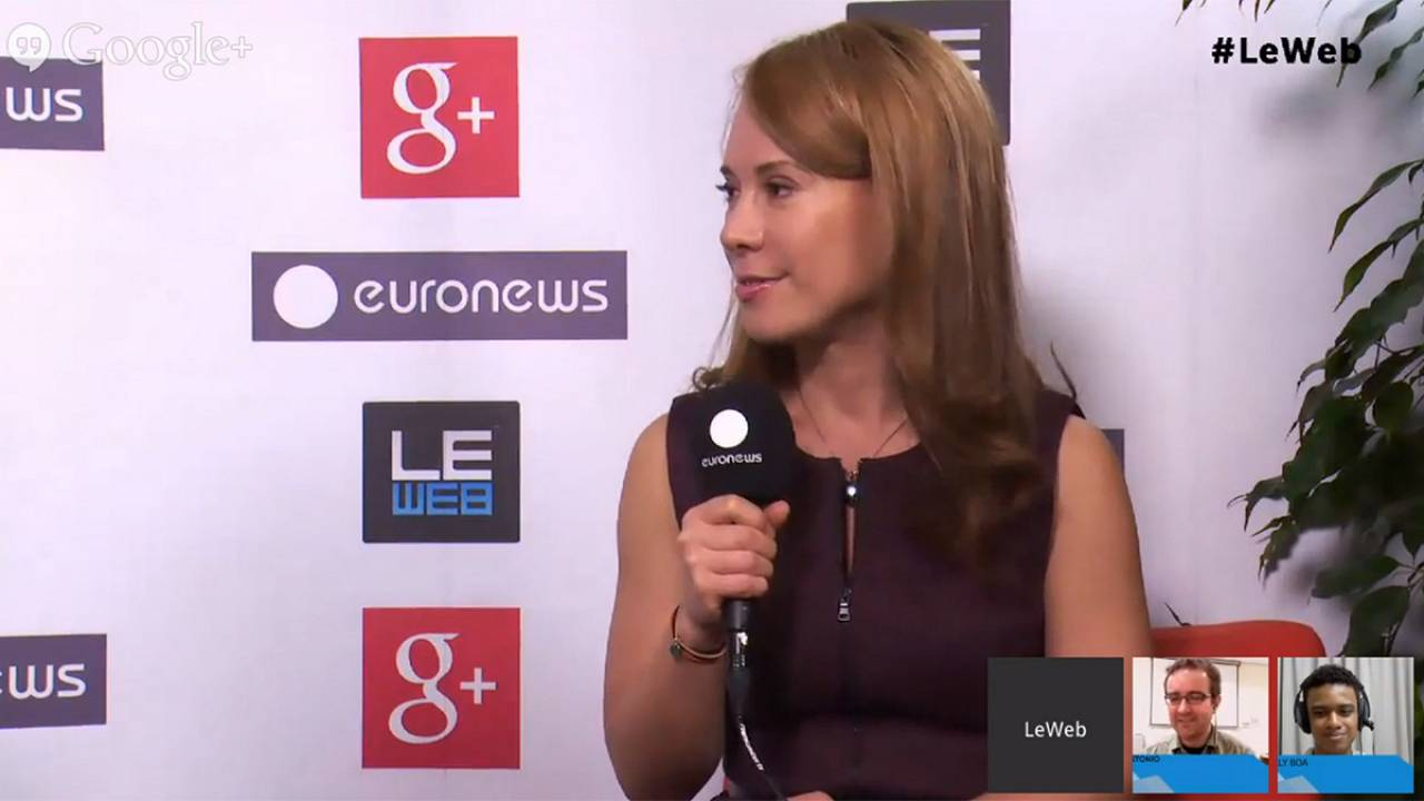 LeWeb 2013: hanging out with Blip co-founder Dina Kaplan