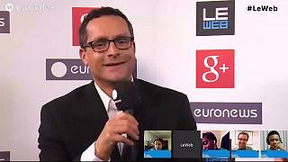 LeWeb 2013: hanging out with Google Product VP Bradley Horowitz
