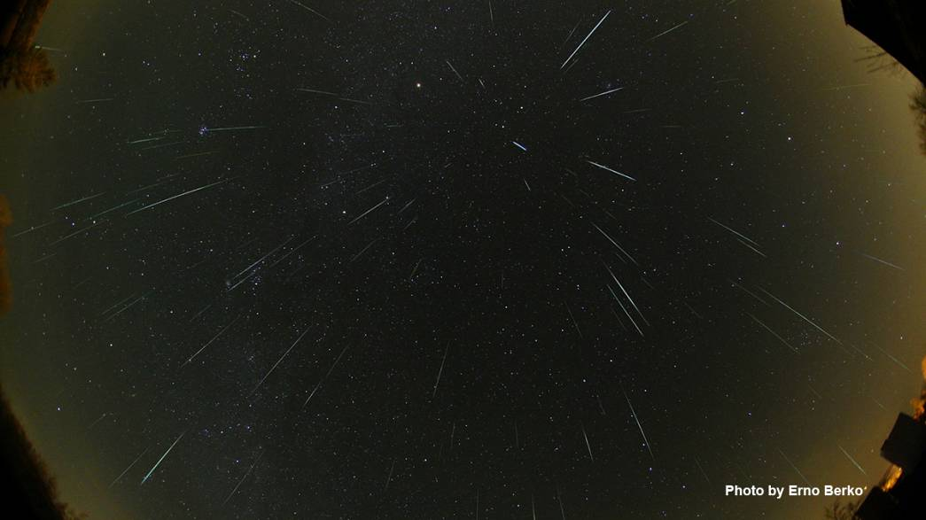 The last meteor shower for 2013