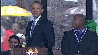 El intérprete del funeral de Mandela dice ser esquizofrénico