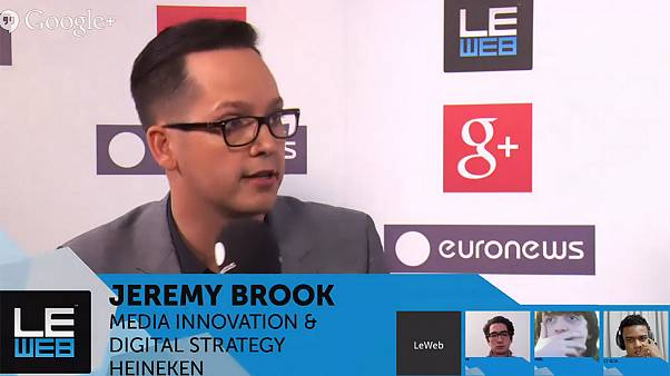 LeWeb 2013: hanging out with digital strategist Jeremy Brook