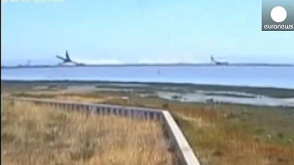 Shocking new footage of San Francisco Asiana crash