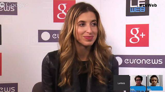 LeWeb 2013: hanging out with Birchbox co-founder Katia Beauchamp