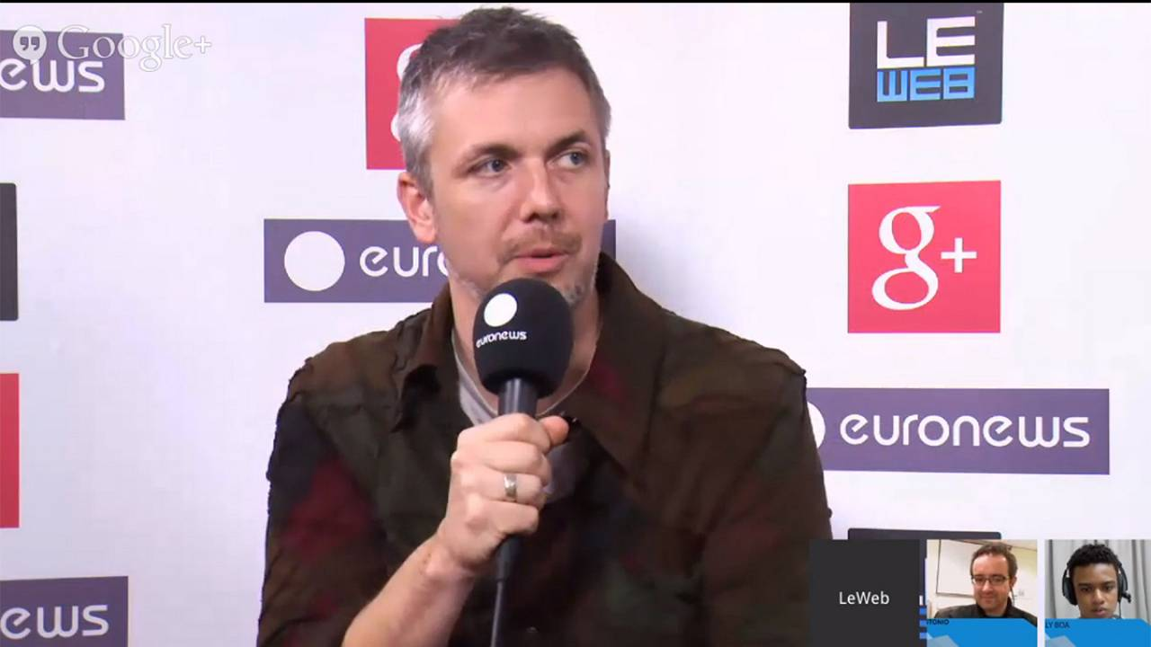 LeWeb 2013: hanging out with Brady Forrest