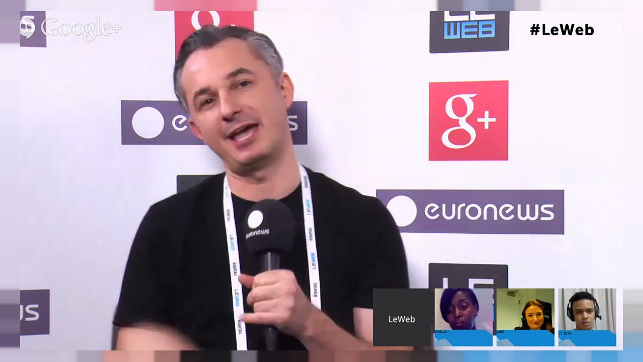 LeWeb 2013: hanging out with digital illusionist Marco Tempest