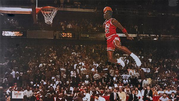 Michael Jordan's 'flu game' shoes sell for 76,225 euros