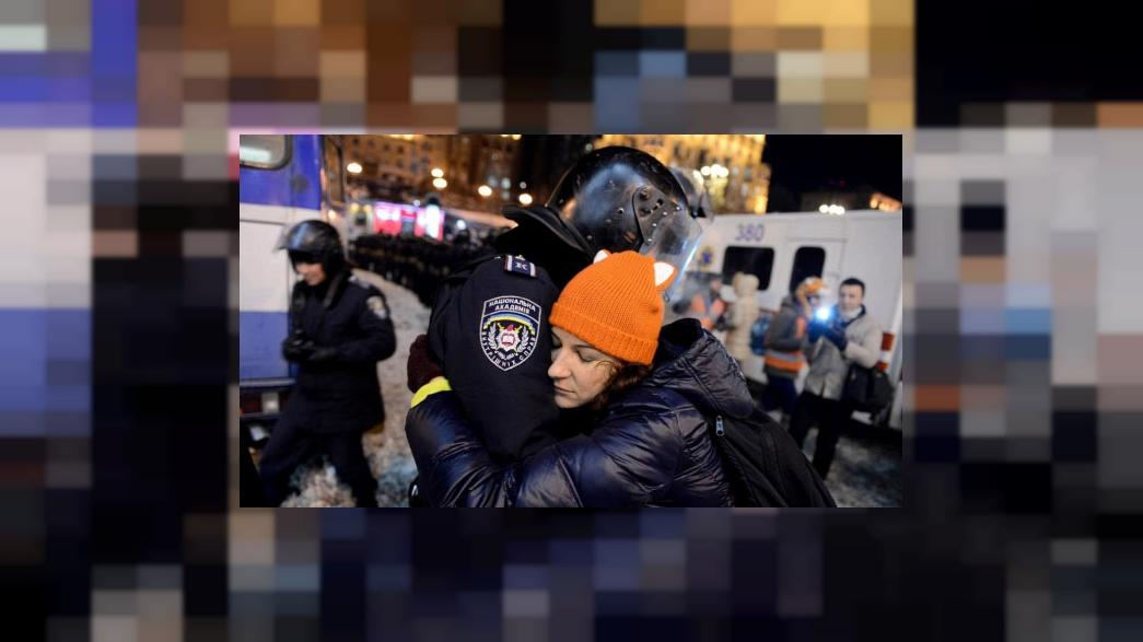 Online voxpop - what has made you join the protests in Ukraine?