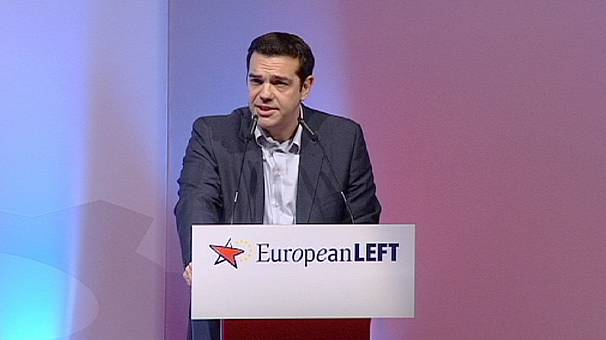 European Left Party announces Alexis Tsipras as candidate for EC presidency
