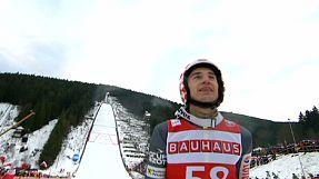 Kamil Stoch - pierwsze zwycięstwo sezonu