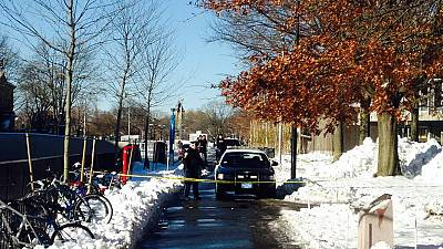 Buildings evacuated at Harvard after report of explosives