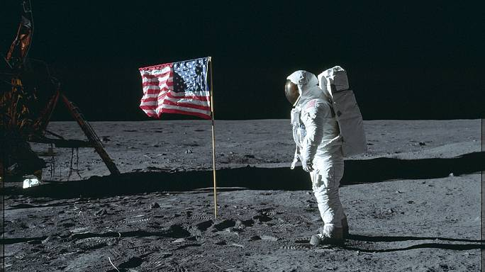 Sosem látott fotók a legelső holdraszállásról