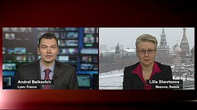 Ukraine protests send icy blast through Moscow and Central Asia