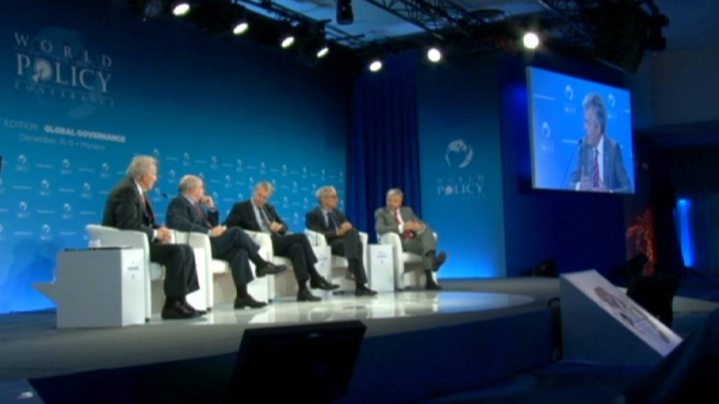 Global governance at the World Policy Conference in Monaco