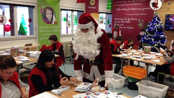 Crise ou pas crise, le secrétariat du Père Noël se donne à fond