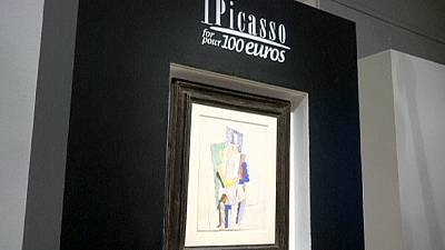 Picasso sold for 100 euros in charity raffle
