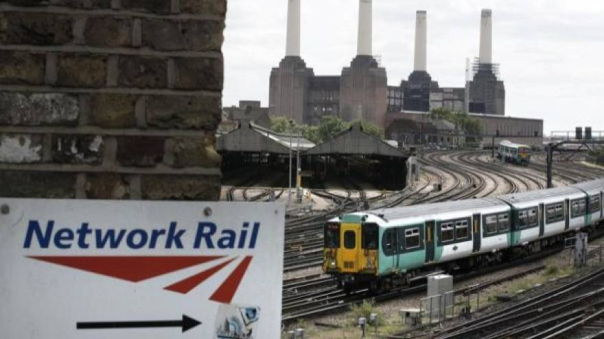 British railway workers being sprayed with urine and faeces - union
