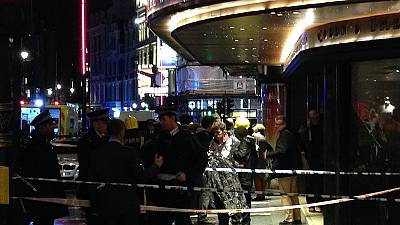 Injuries reported as balcony collapses at London theatre