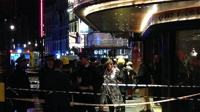 """Royaume-Uni: """"des victimes"""" après l'effondrement du toit d'un théâtre à Londres"""